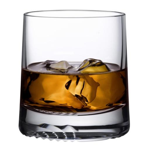 Alba Whiskey Glasses, Set of 2 by Joe Doucet for Nude