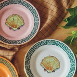 Il Viaggio di Nettuno Mix of Bread Plates, Set of 4 in Lifestyle by Luke Edward Hall for Richard Ginori