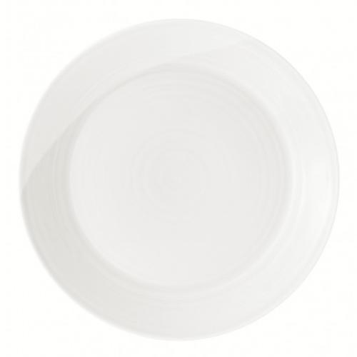 1815 White Dinner Plate by Royal Doulton