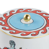 Il Viaggio di Nettuno White Teapot Close-up by Luke Edward Hall for Richard Ginori