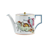 Il Viaggio di Nettuno White Teapot Front by Luke Edward Hall for Richard Ginori