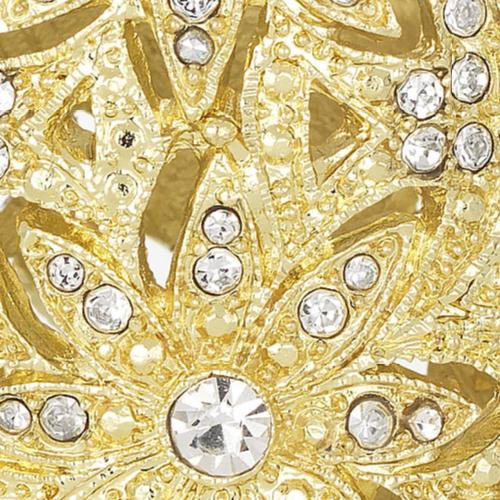 Windsor Tealight close up, Gold by Olivia Riegel
