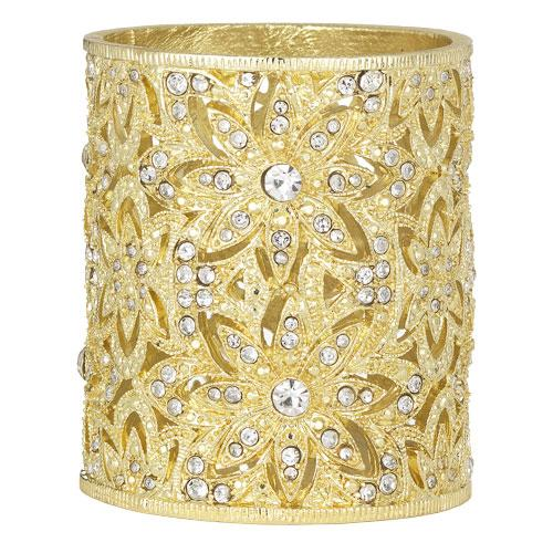 Windsor Tealight, Gold by Olivia Riegel