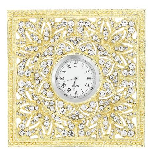 Windsor Desk Clock, Gold by Olivia Riegel