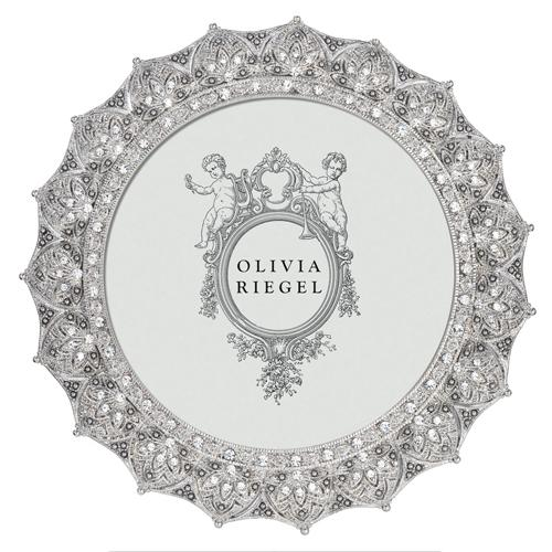 Windsor Frame, Silver Round by Olivia Riegel
