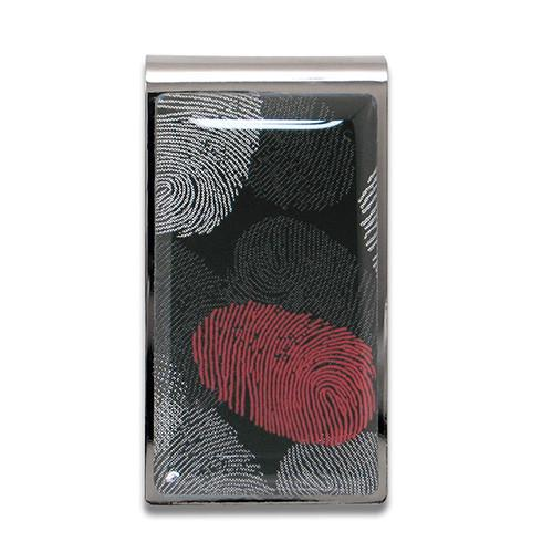 Fingerprints Money Clip by James Wines for Acme Studio