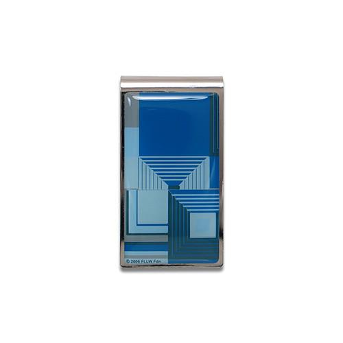 Biltmore Blue Money Clip by Frank Lloyd Wright for Acme Studio