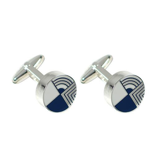 Round Gifts Cufflinks by Frank Lloyd Wright for Acme Studio