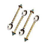 Fortuny Venise Dessert Spoons, Set of 4 by L'Objet