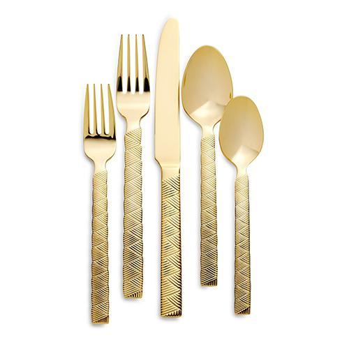 Cairo Gold 5 Piece Placesetting by Ralph Lauren