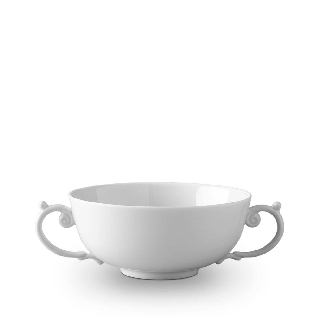 Aegean White Soup Bowl by L'Objet