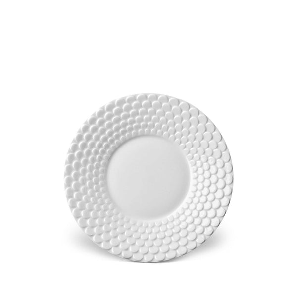 Aegean White Saucer by L'Objet