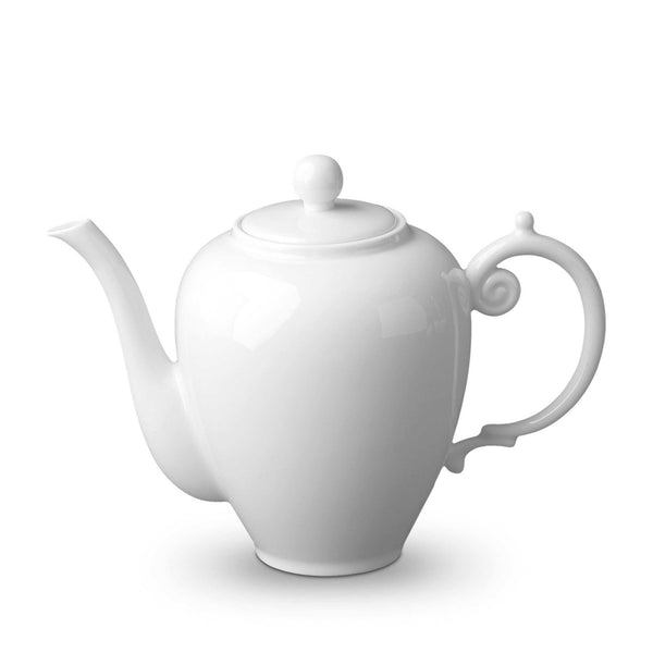 Aegean White Coffee Pot by L'Objet