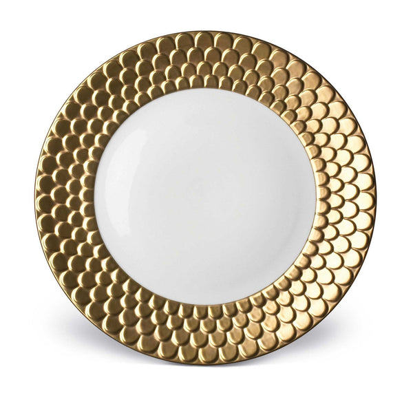Aegean Gold Dinner Plate by L'Objet