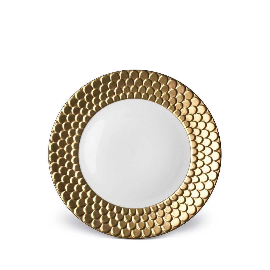 Aegean Gold Soup Plate by L'Objet