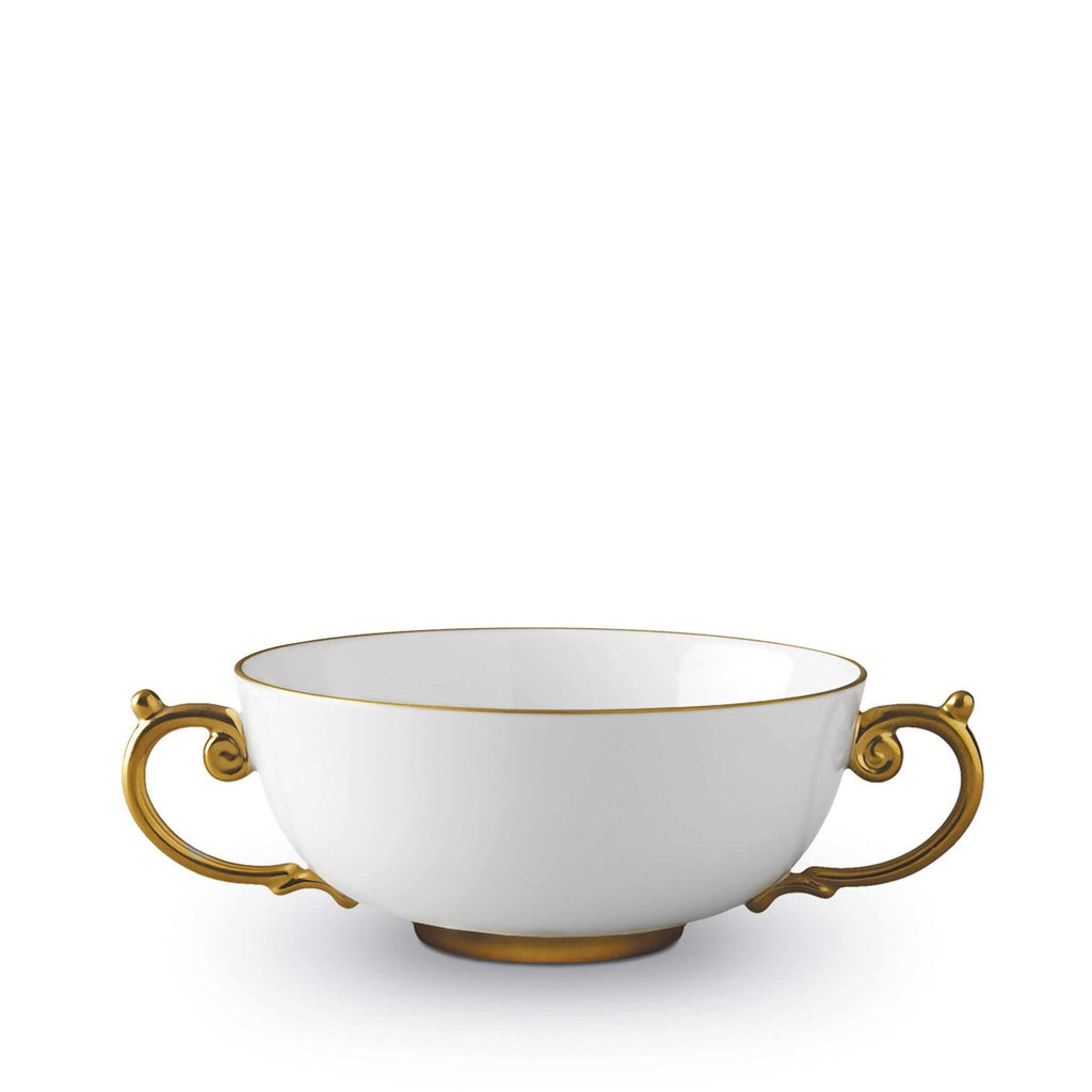 Aegean Gold Soup Bowl by L'Objet