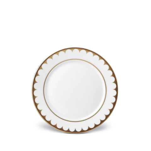 Aegean Filet Gold Bread & Butter Plate by L'Objet