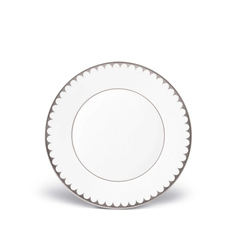 Aegean Filet Platinum Dessert Plate by L'Objet