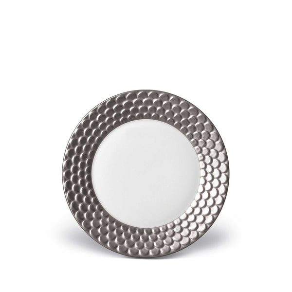 Aegean Platinum Bread & Butter Plate by L'Objet