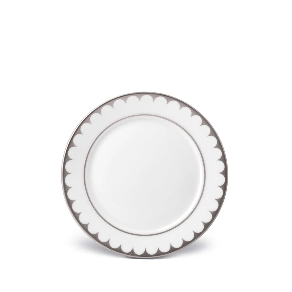 Aegean Filet Platinum Bread & Butter Plate by L'Objet