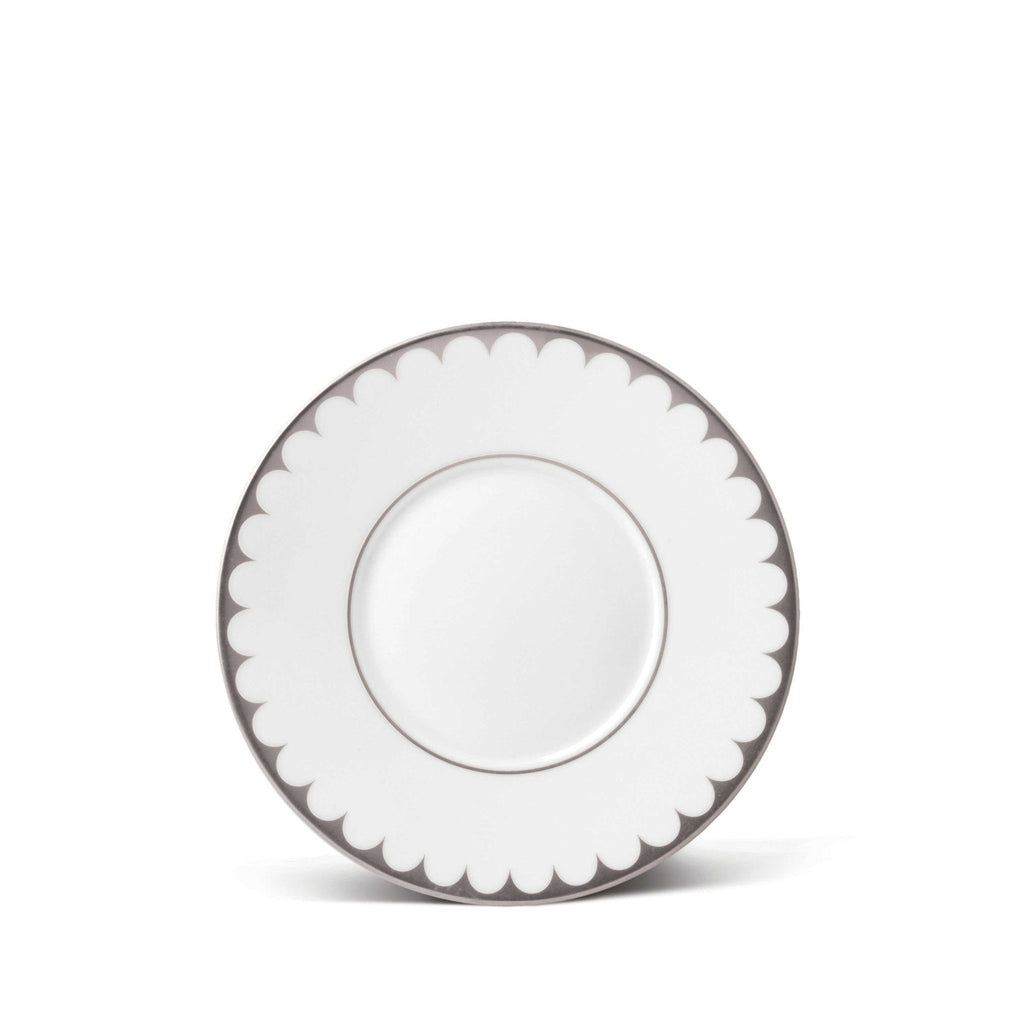 Aegean Filet Platinum Saucer by L'Objet