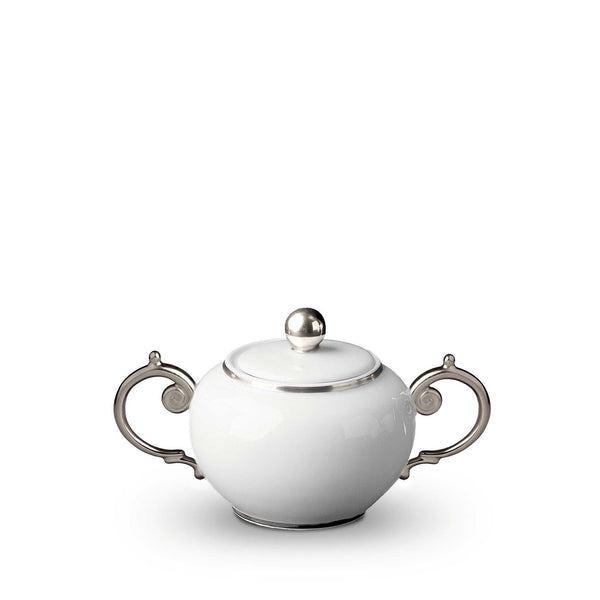 Aegean Platinum Sugar Bowl by L'Objet
