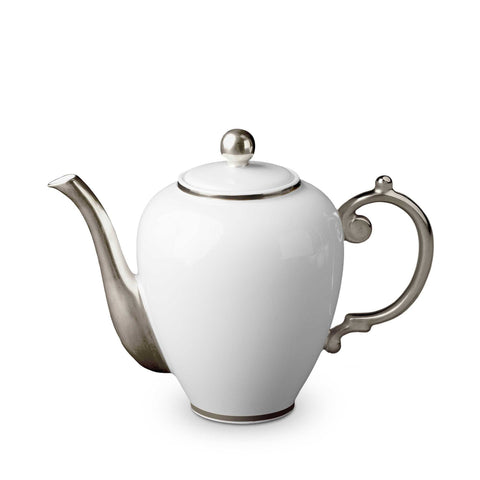 Aegean Platinum Coffee Pot by L'Objet