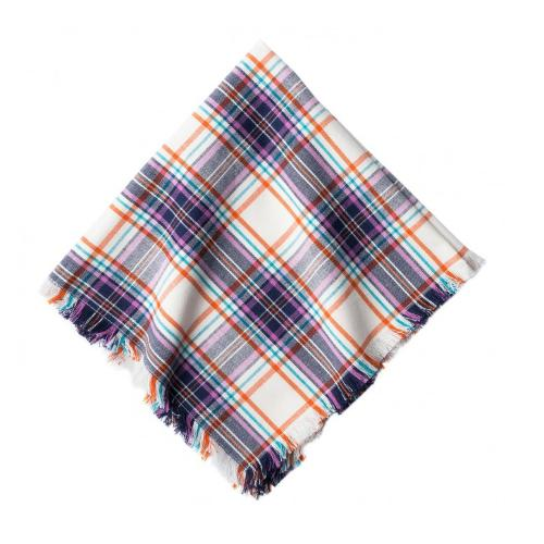 Alpine Plaid Napkin, Set of 4 by Juliska