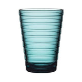 Glass Tumblers by Aino Aalto, Set of 2 for Iittala
