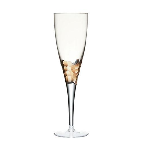 Gold Paillette White Wine Glass, set of 4 by Kim Seybert