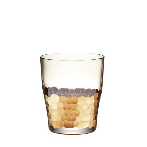 Gold Paillette Double Old Fashioned, set of 4 by Kim Seybert