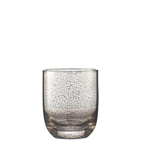 Platinum Crackle Double Old Fashioned, set of 4 by Kim Seybert