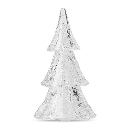 "Berry and Thread 10.5"" 3 Piece Stacking Glass Tree, Clear by Juliska"