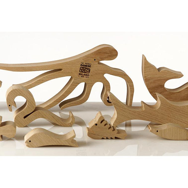 16 Pesci (Fish) Puzzle by Enzo Mari for Danese Milano