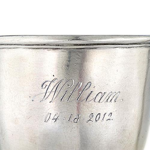 Baby Cup with Handle by Match Pewter