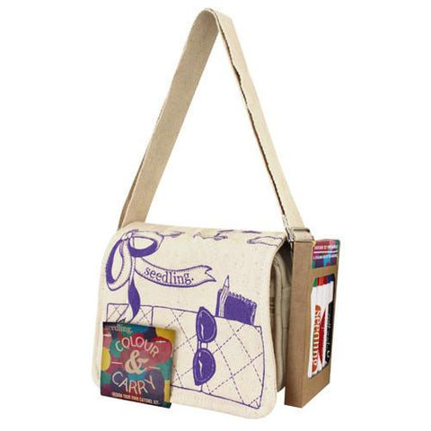 Color and Carry Satchel Kit by Seedling