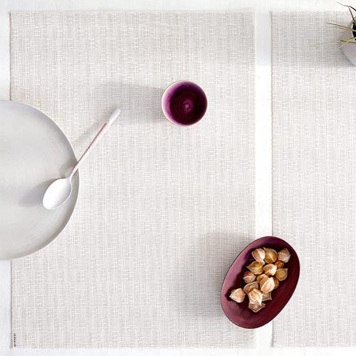 Chilewich: Bay Weave Woven Vinyl Placemats, Set of 4