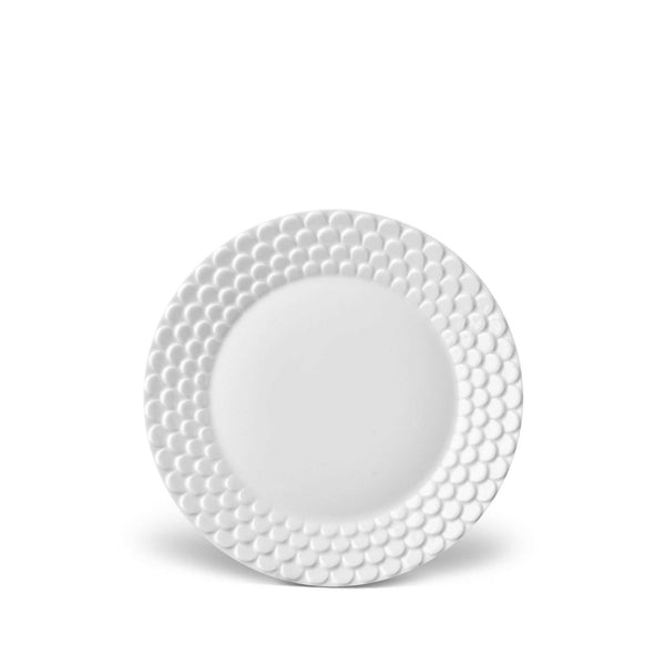 Aegean White Bread & Butter Plate by L'Objet