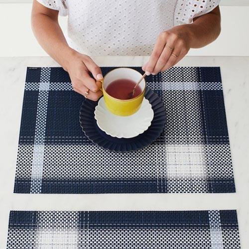 Chilewich: Beam Woven Vinyl Placemats Set of 4