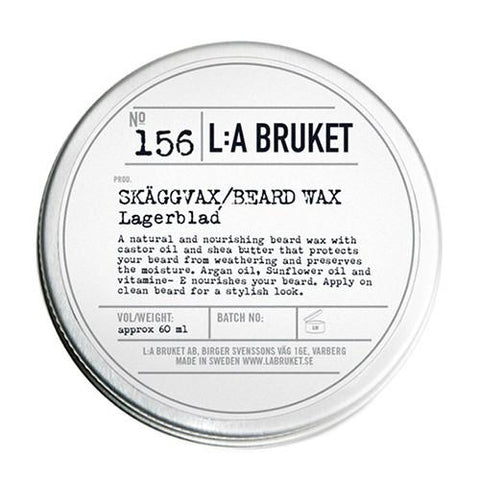 No. 156 Laurel Leaf Beard Wax by L:A Bruket