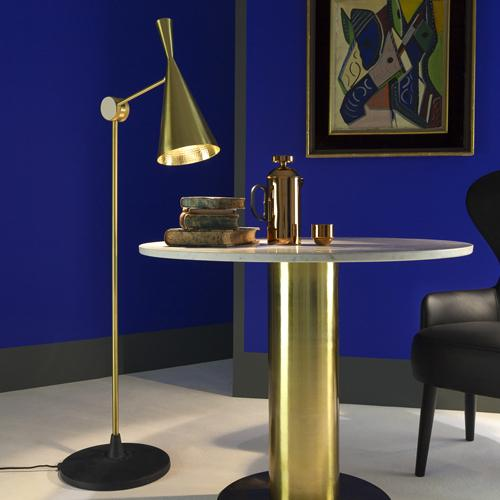 Beat Floor Light Brass by Tom Dixon
