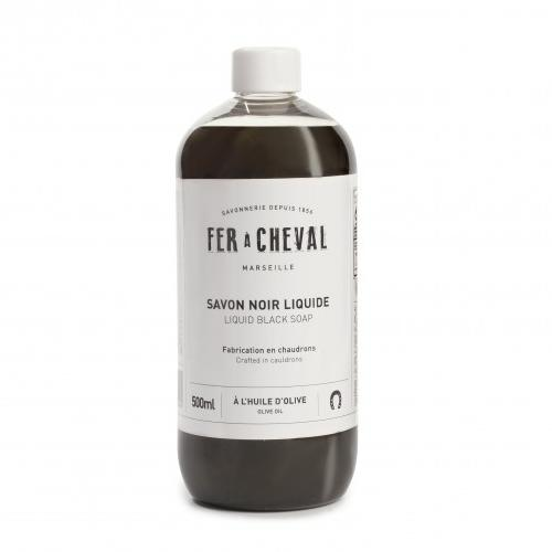 Fer a Cheval Olive Oil Black Liquid Soap