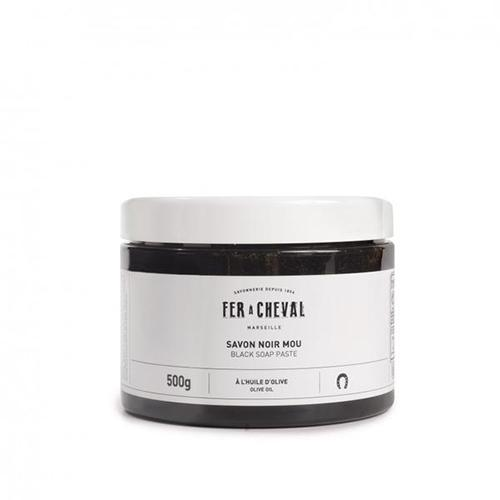 Fer a Cheval Olive Oil Black Paste Soap
