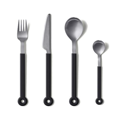 Ring 4 Piece Flatware Set by Mark Braun for Mono Germany