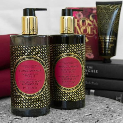 Emporium Classics Blood Orange Hand & Body Lotion by Mor