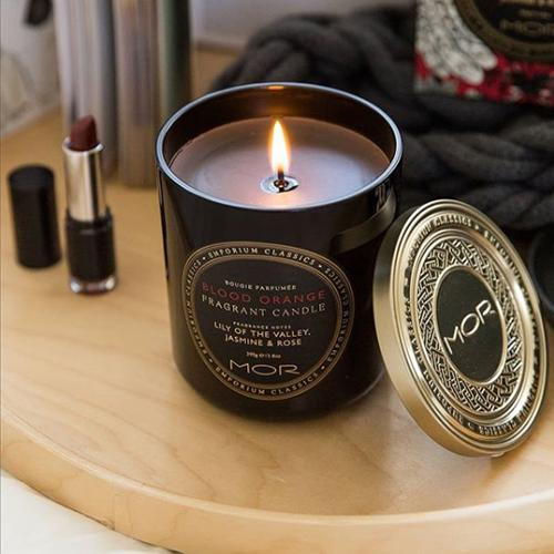 Emporium Classics Blood Orange Candle by Mor