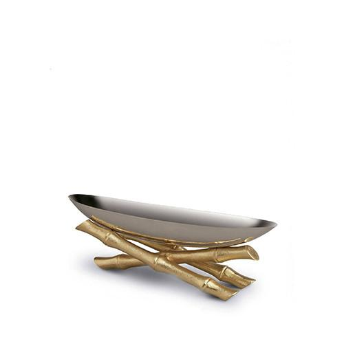 Bambou Serving Boat by L'Objet
