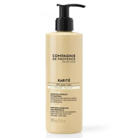 Karite Collection: Shea Butter Body Milk by Compagnie de Provence