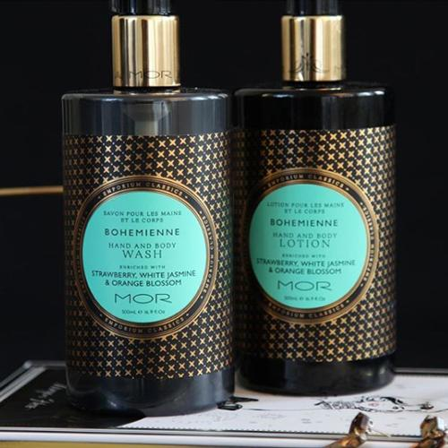Emporium Classics Bohemienne Hand & Body Lotion by Mor