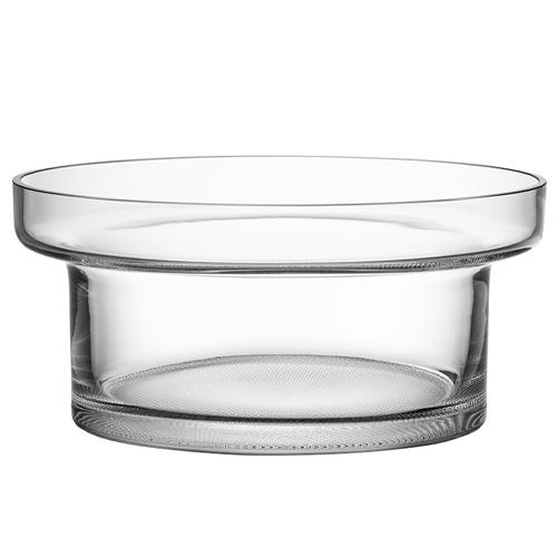 "Limelight 9"" Clear Centerpiece Bowl by Göran Wärff for Kosta Boda"